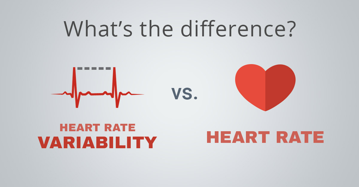 Heart Rate Variability vs. Heart Rate