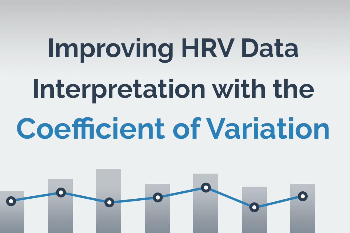Improving HRV Data Interpretation with the Coefficient of Variation
