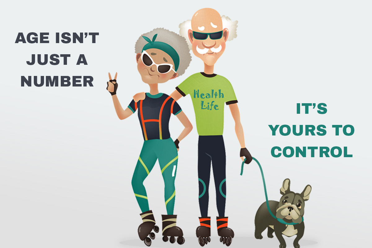 Infographic Time: Age isn't Just a Number, It's Yours to Control